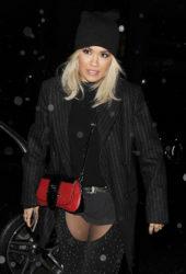 Rita Ora Night Out in London