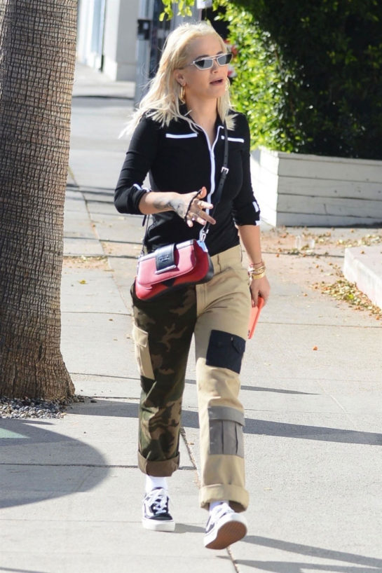 Rita Ora Shopping in West Hollywood