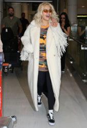 Rita Ora arrives at Airport in Sydney