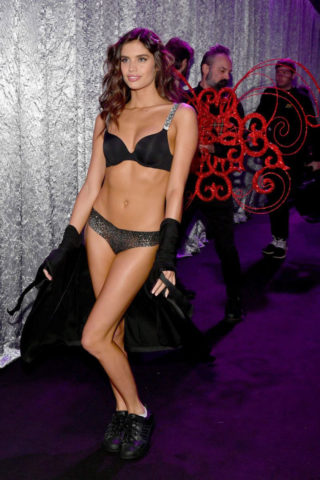 Sara Sampaio at Victoria's Secret Fashion Show 2018