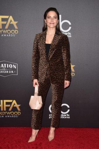Sophia Bush at Hollywood Film Awards in Los Angeles