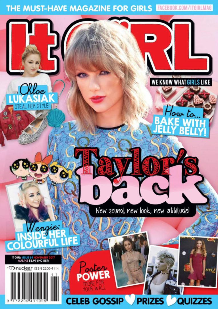 Taylor Swift for It Girl Magazine (November 2018)