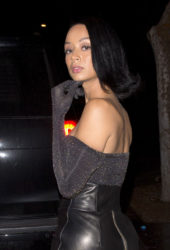 Draya Michele at Delilah in West Hollywood