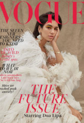 Dua Lipa on the Cover of Vogue Magazine (UK January 2019)
