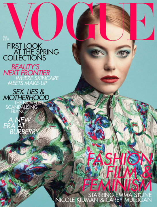 Emma Stone in Vogue Magazine (UK February 2019)