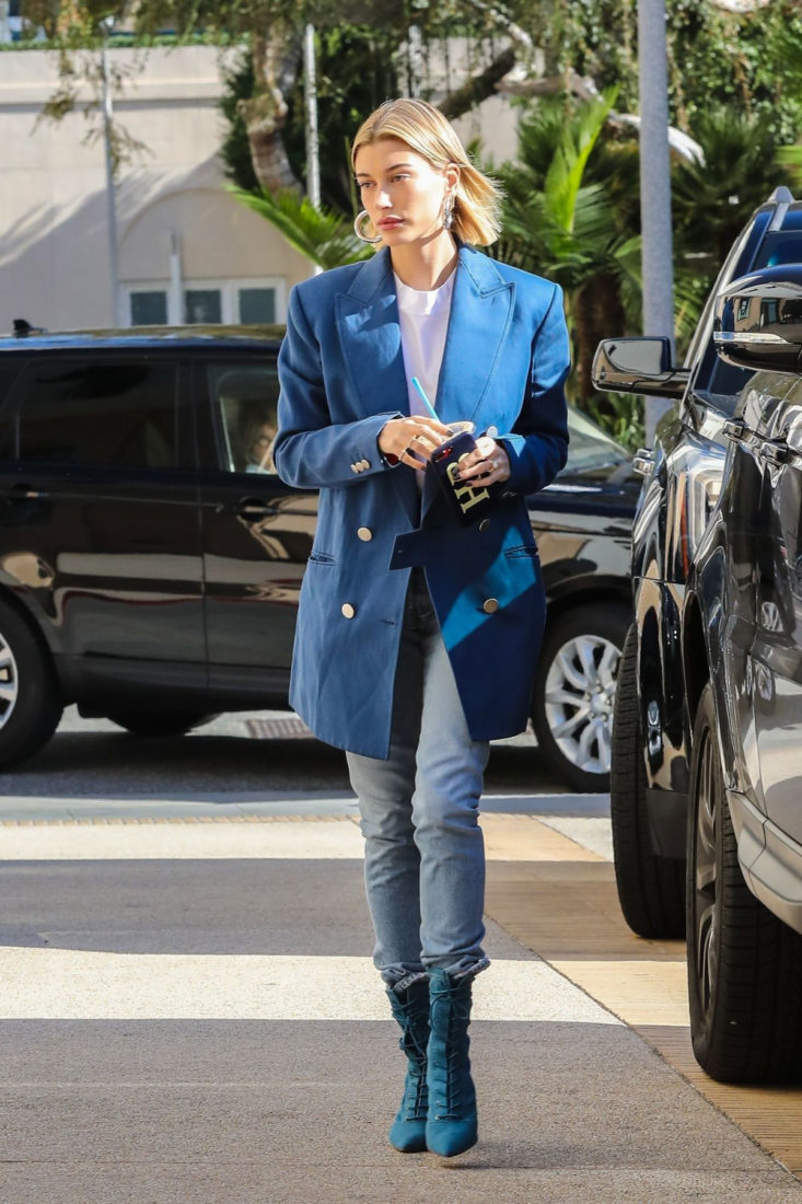 Hailey Bieber Out Shopping in Beverly Hills
