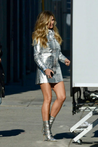 Heidi Klum Out in Los Angeles