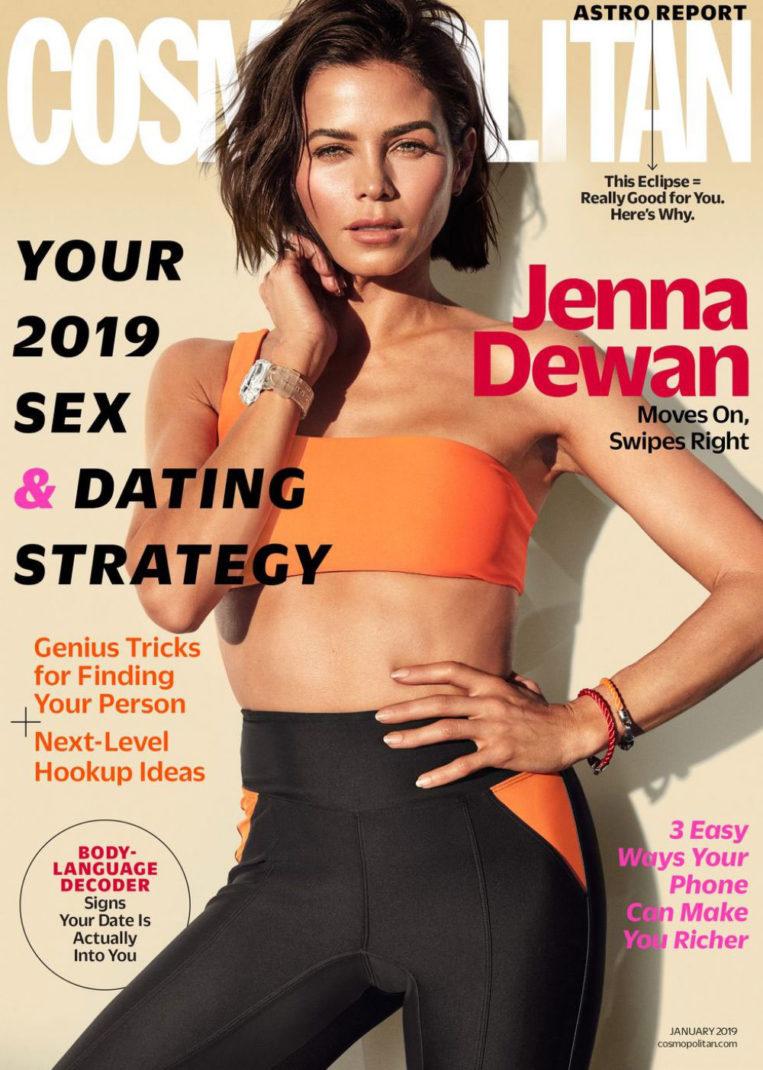 Jenna Dewan in Cosmopolitan Magazine (January 2019)
