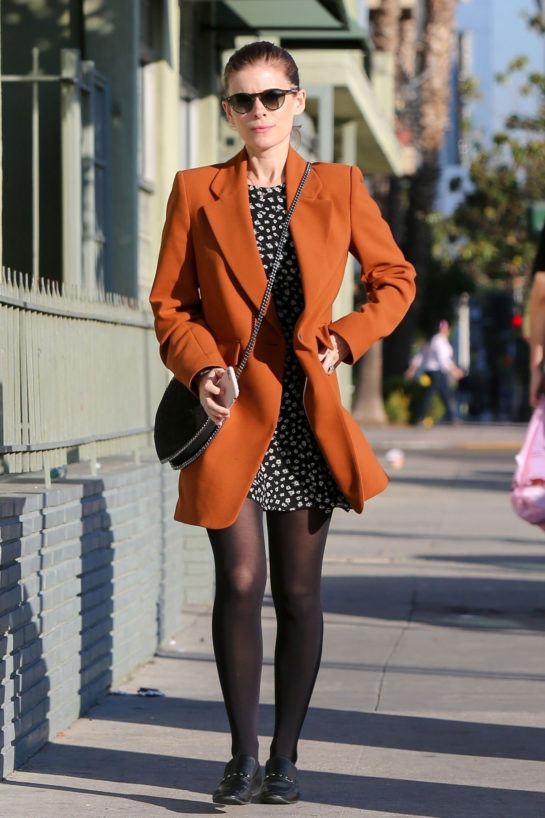 Kate Mara Heading to a Studio in Hollywood