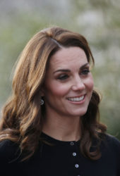 Kate Middleton Hosts a Christmas Party in London