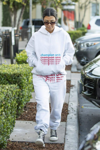 Kourtney Kardashian Out and About in Calabasas
