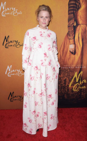 Mamie Gummer at Mary Queen of Scots premiere in New York