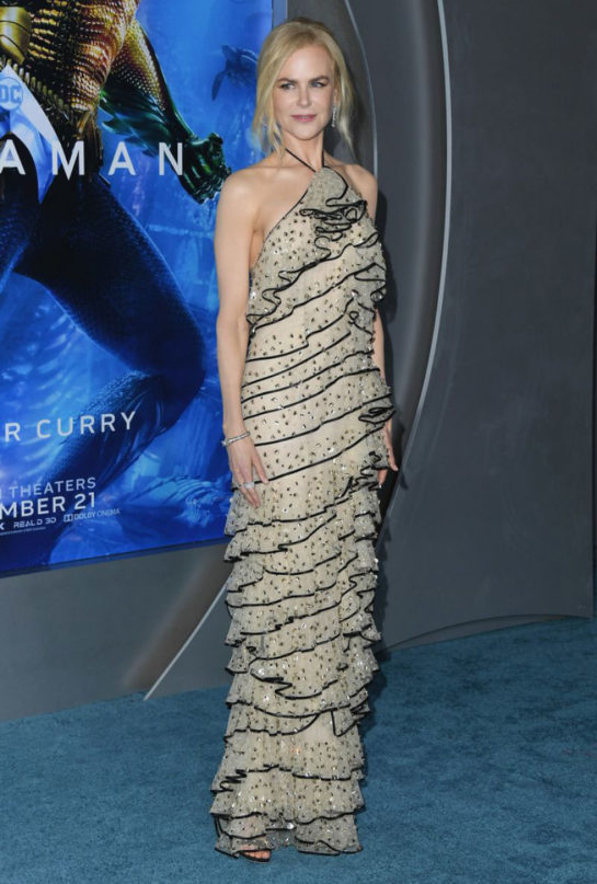 Nicole Kidman at Aquaman Premiere in Hollywood