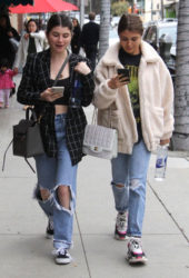 Olivia and Isabella Giannulli Out and About in Beverly Hills