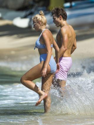 Pixie Lott In Bikini at a Beach in Kauai