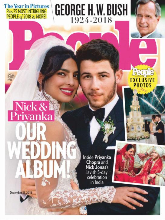 Priyanka Chopra and Nick Jonas – Wedding Photos for People Magazine (December 2018)