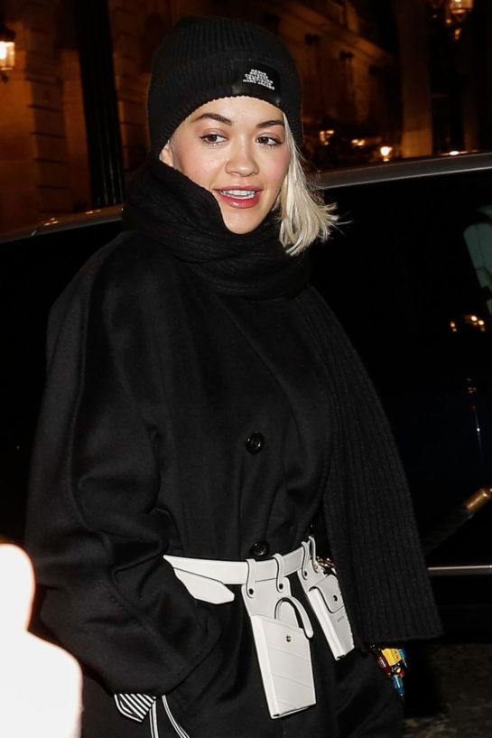 Rita Ora Night Out in Paris