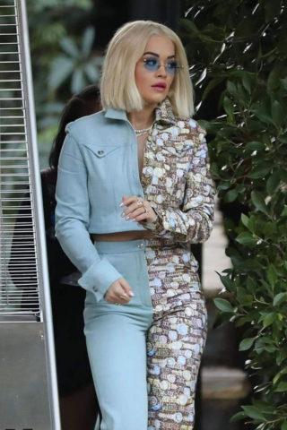 Rita Ora leaving Hotel Bel-Air in Beverly Hills