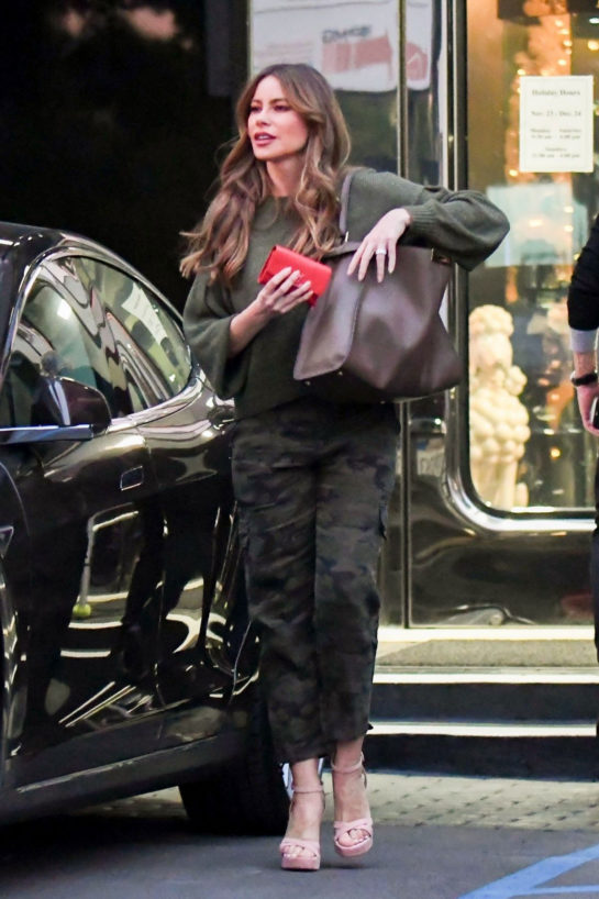 Sofía Vergara Out Shopping in Beverly Hills
