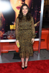America Ferrera at Miss Bala Premiere in Los Angeles