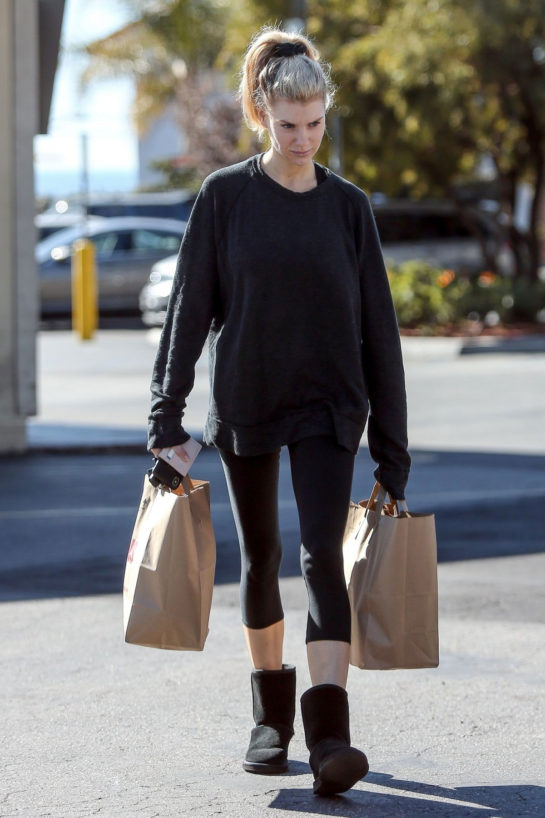 Charlotte McKinney Out Shopping in Los Angeles