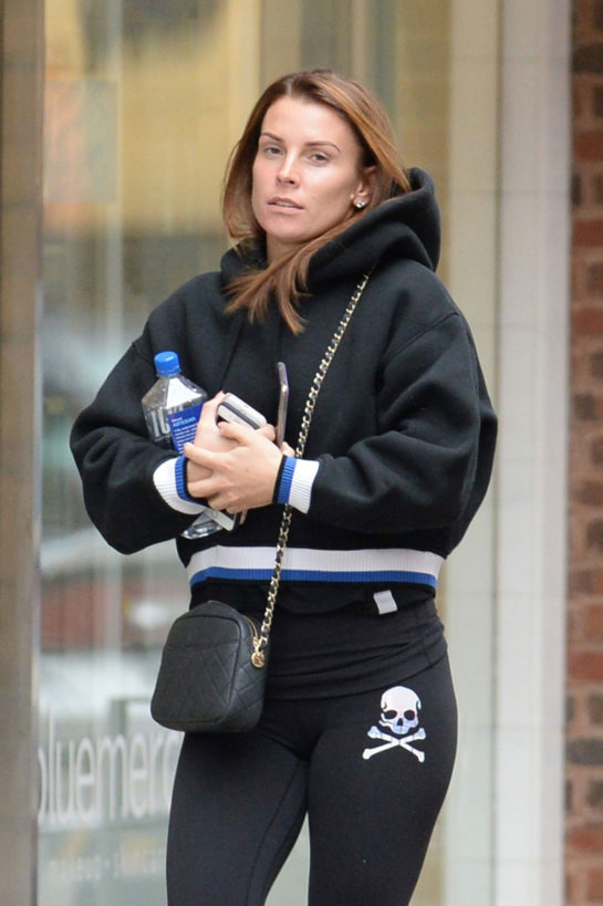 Coleen Rooney Out and About in Washington