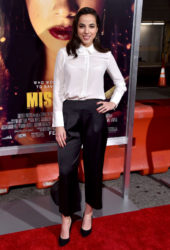 Cristina Rodlo at Miss Bala Premiere in Los Angeles