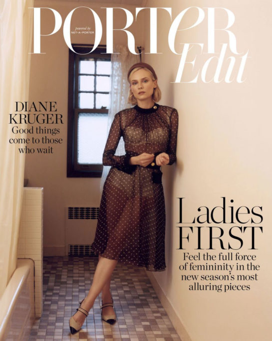Diane Kruger in The Edit by Net-a-Porter (January 2019)