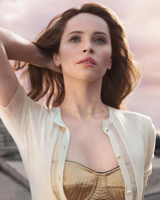 Felicity Jones for Clé de Peau Beauté 2019