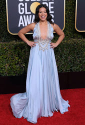 Gina Rodriguez at 2019 Golden Globe Awards