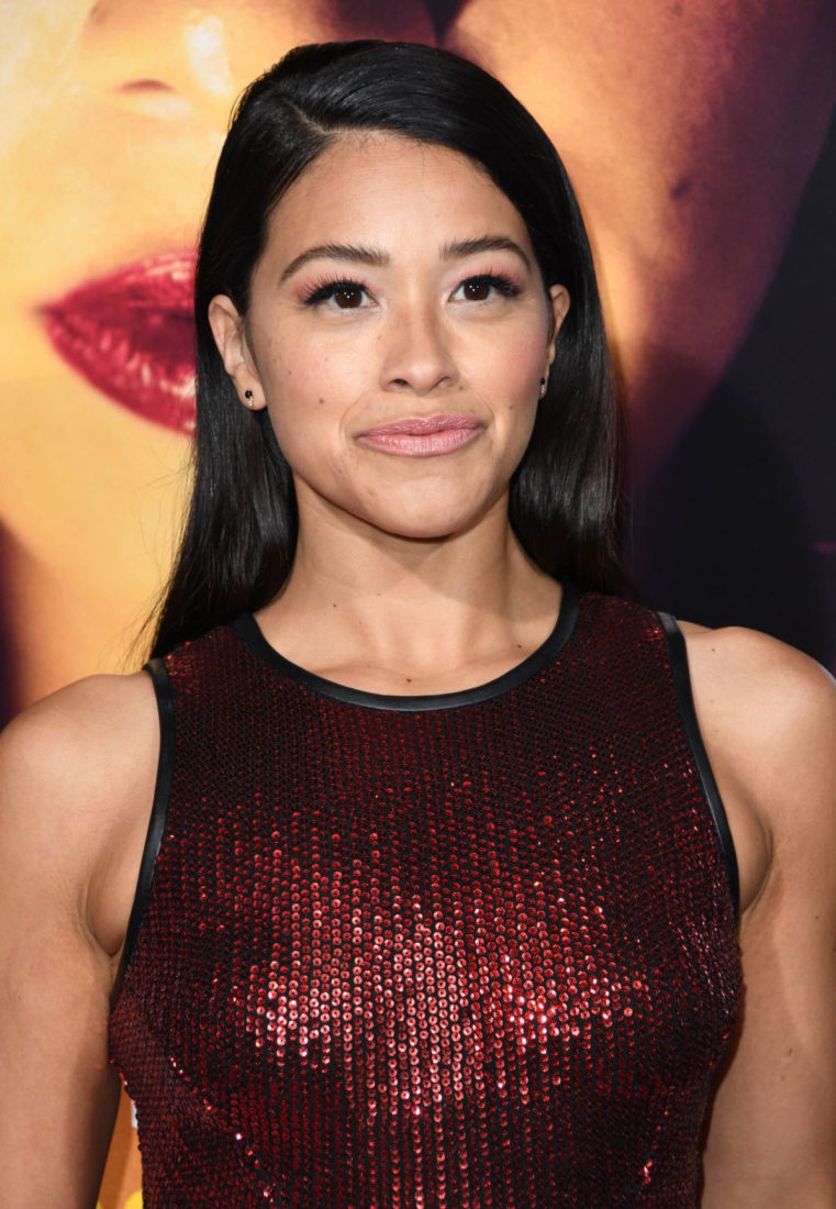 Gina Rodriguez at Miss Bala Premiere in Los Angeles