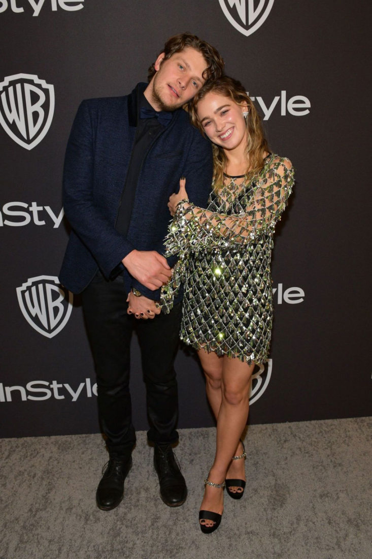 Haley Lu Richardson at InStyle and Warner Bros Golden Globes 2019 After Party