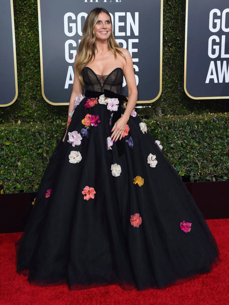 Heidi Klum at 2019 Golden Globe Awards