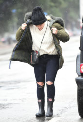 Hilary Duff Out and About in Los Angeles