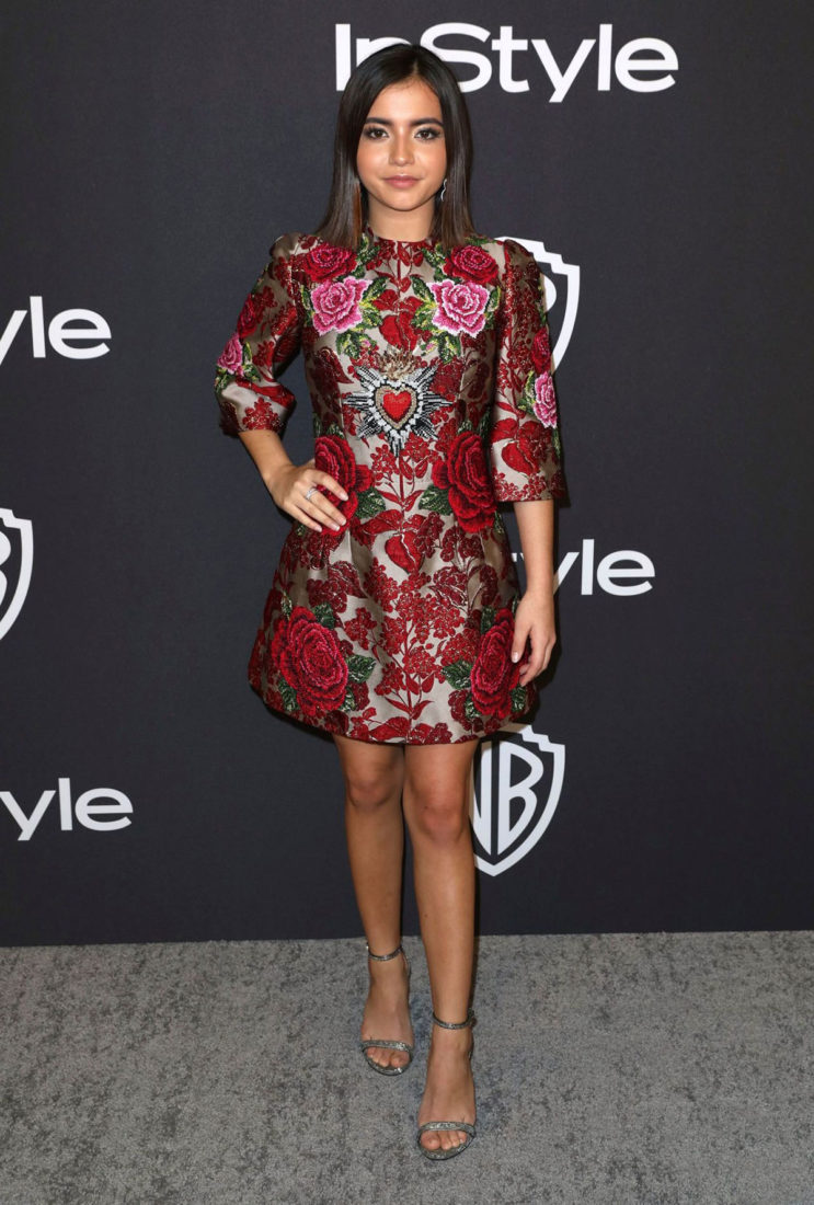 Isabela Moner at InStyle and Warner Bros Golden Globes 2019 After Party