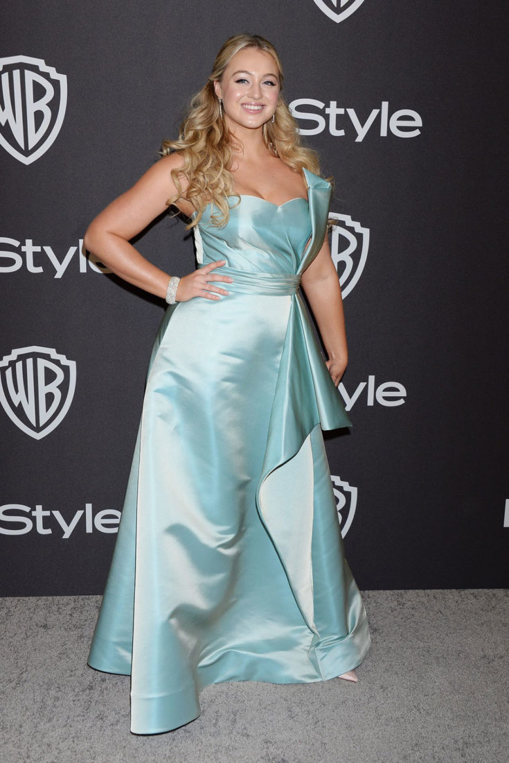 Iskra Lawrence at InStyle and Warner Bros Golden Globes 2019 After Party