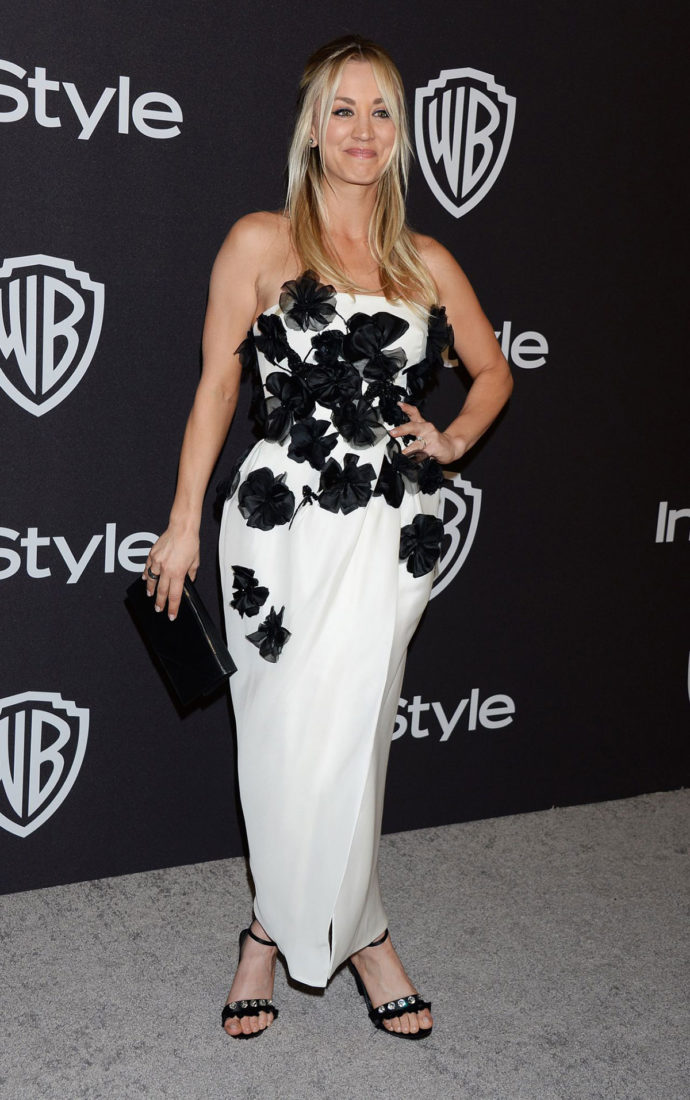 Kaley Cuoco at InStyle and Warner Bros Golden Globes 2019 After Party