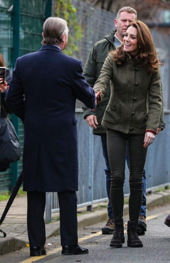 Kate Middleton Visits King Henry's Walk Garden in Islington