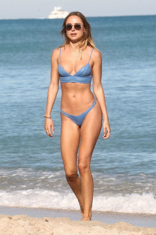 Kimberley Garner in Bikini at Miami Beach