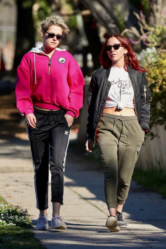 Kristen Stewart and Sara Dinkin Out Hiking in Los Feliz