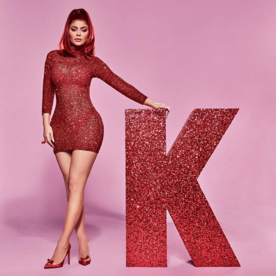 Kylie Jenner for Kylie Cosmetics Valentine's Day collection 2019