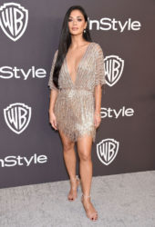 Nicole Scherzinger at InStyle and Warner Bros Golden Globes 2019 After Party