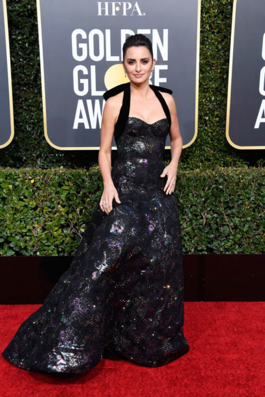Penelope Cruz at 2019 Golden Globe Awards