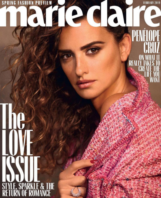 Penelope Cruz for Marie Claire (US February 2019)