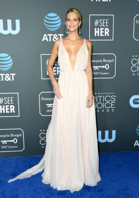 Poppy Delevingne at 2019 Critics' Choice Awards in Santa Monica