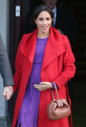 Pregnant Meghan Markle at Birkenhead at Hamilton Square