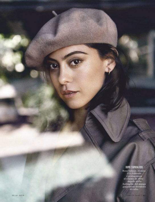 Rosa Salazar in Vanity Fair Italy Magazine (January 2019)