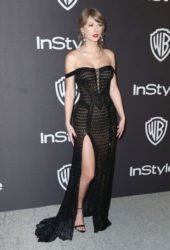 Taylor Swift at InStyle and Warner Bros Golden Globes 2019 After Party