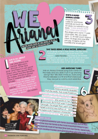 Ariana Grande in It GiRL Magazine (March 2019)