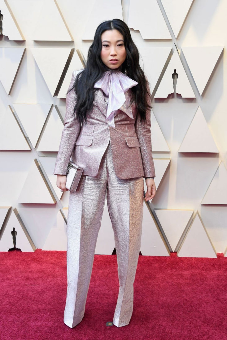 Awkwafina at Oscars 2019 in Los Angeles